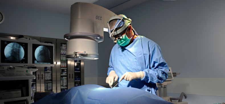 minimally-invasive spine surgery